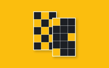 Insta grid layout mockups